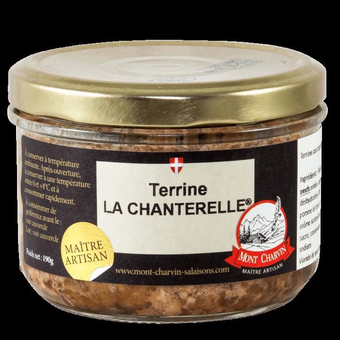 Terrine artisanale aux chanterelles - Mont Charvin | FARTO
