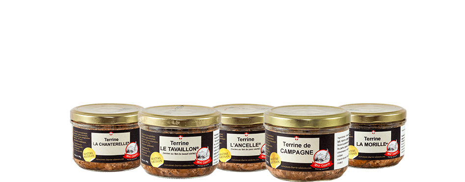 Terrines, verines et rillettes